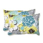 Found it at Wayfair - Floral Fantasy Indoor / Outdoor Throw Pillow
