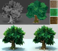 Awesome trees. Environment Assets: Cheaper Trees. by Ricardo Chamizo: