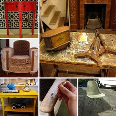 How to redo any piece of furniture