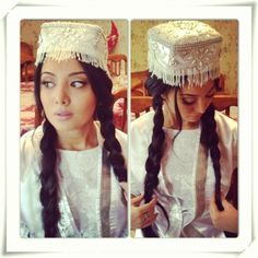 Güzel Türk Kızı Captain Hat, Winter Hats, Culture, Costumes, Traditional, World, Cut Paper, Inspiration, Clothes