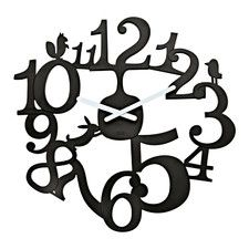 three tiered wall clock tick tock