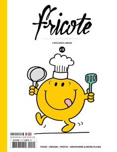 Fricote Magazine #10 – Cover By Adam Hargreaves – Look Inside