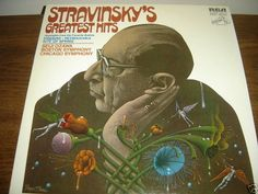 STRAVINSKY'S GREATEST HITS RECORD NM