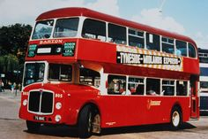 Barton Transport - New deckers of the 50s & 60s. Fleet number 805, a Crossley bodied AEC Bridgemaster taken into stock in 1958. This vehicle was an ex AEC Demonstrator)
