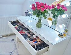 meuble rangement maquillage pour organiser bien votre coin de beauté
