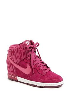 620fab7f431f Nike  Dunk Sky Hi  Wedge Sneaker (Women) available at  Nordstrom Nike