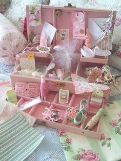 sweet pink display