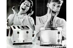 Anúncios antigos mostram mulheres incrivelmente felizes com seus eletrodomésticos - Blue Bus