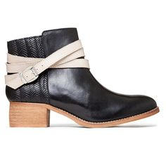 Roux Strap Detail Ankle Boot | Mi Piaci | Shoes and Bags