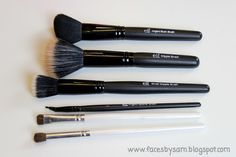 Makeup Brushes are the bomb-diggity. The prices are amazingly cheap and the brushes are great! Makeup 101, Lots Of Makeup, Elf Makeup, Love Makeup, Skin Makeup, Makeup Tools, Makeup Brushes, Elf Brushes, Makeup Style