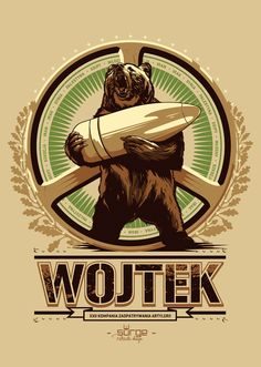 T-shirt designs created for polish clothing company Surge Polonia. All designs are inspired by national polish symbols and the most glorious moments in polish history. Wojtek Bear, Polish Symbols, Battle Of Monte Cassino, Polish Tattoos, Poland History, Diorama, Ww2 Posters, Modern Tattoos, Bear Art