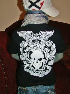 boys * fashion * ebay: ROCK STAR BABY Shirt - Verkäufer: morgainlefay8180 - entdeckt durch: www.modenavigator.de