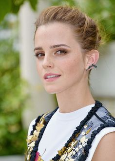 Emma Watson at the 'The Circle' photocall in Paris, France on June 22, 2017.