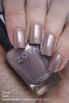 SAMPLES Hey Dolls! I have the gorgeous new Zoya Sophisticates Collection for Fall 2017 to share with you today. This gorgeous coll...