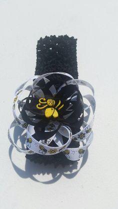 Infant bumble bee headband https://www.etsy.com/listing/244099543/infant-baby-toddler-adult-black-white