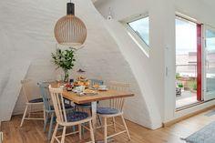 schwedische wohnung-schlichte möbel | small apartments - flats ... - Dachwohnung Im Skandinavischen Stil