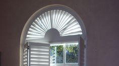 Unusual shaped or bespoke windows? At Shutterly Fabulous we provide made to measure custom shutters for your unique windows. Curtain Alternatives, Shaped Windows, Window Shutters, Attic Rooms, Window Dressings, New Home Designs, Home Reno, Little Houses, Great Rooms