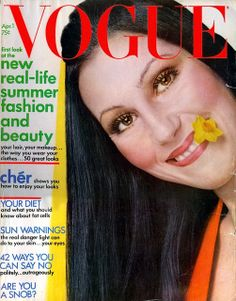 Cher on Vogue