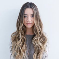 sun-kissed balayage for brown hair