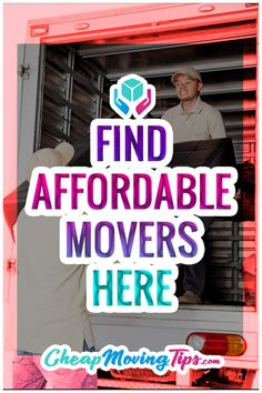 Compare costs from trusted moving companies in your area here to find the best deal for your move every time. It's the easiest way to save hundreds or more on your move! Tips For Moving Out, Quotes About Moving On, Moving Hacks, Moving House Tips, Moving Day, Organizing For A Move, Moving To Another State, Moving Companies, Free Move