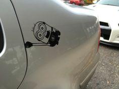 Minion Car Sticker