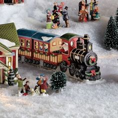 Whole Home®/MD 'Village Collection' Train With Lights - Sears | Sears Canada #Sears #Wishlist