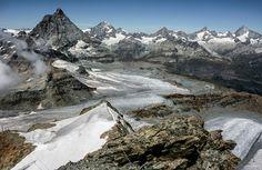 Matterhorn, Klein Matterhorn, Switzerland