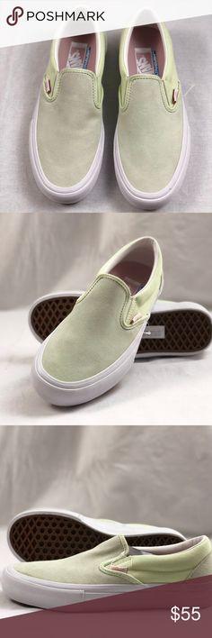 72603eccaa12 Vans Slip-On Pro Ambrosia White Shoes. Vans Slip-On Pro Ambrosia