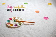 DIY-rainbow-confetti-tablecloth-paint
