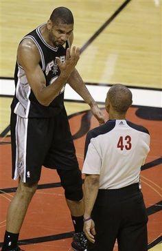 U Can't See Me Dan Crawford! (June 20, 2013 | NBA Finals | Game 7 | San Antonio Spurs @ Miami Heat | American Airlines Arena in Miami, Florida)