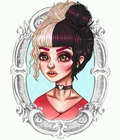 Image about beautiful in Melanie Martinez by crybaby Melanie Martinez Drawings, Crybaby Melanie Martinez, Tattoos For Kids, Musa, Cry Baby, Doll Face, Harley Quinn, Female Art, Art Pictures