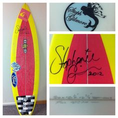 SurfingLife is making this a reality!  They just got their mitts on one of Queen @stephaniegilmore's sleds. Wanna win this? Buy #surfinglife 289 next month and you can! @dhdsurf @quiksilverwomen @creaturesofleisure #fordaustralia