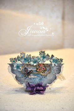 Jiwon's Magnolia Blog: Romantic vintage card