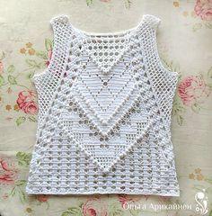 Top pattern by Olga Arikainen