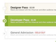 Dribbble - Jump.tv - Select a pass by Jeff Broderick