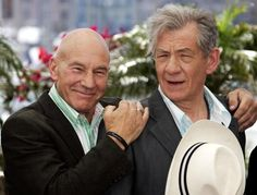 Patrick Stewart And Ian McKellen's Friendship Is Better Than Yours---this comment.