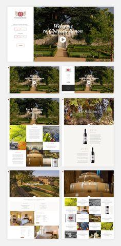 Projet Château Renon   Portfolio Li-Nó Design - Web & Graphic Studio