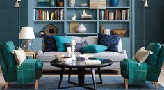 Shop the Look: Living Room - Designer Rooms | Serena & Lily