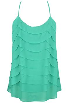 Scalloped Top in a Mint Green  Love this Color & the Flowy Feminine Look! Only $28.50... Currently Out of Stock...