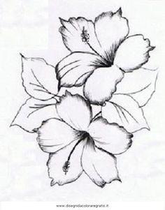 natura/fiori disegni per potenziamento arte