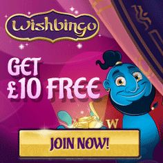 Join us today to receive £10 Free Bingo & £25 Deposit Bonus and a 250% bonus when you deposit. Make your bingo wishes come true! Read More...http://www.popularbingosites.co.uk/new-bingo-sites/