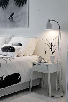 sulka,höyhen,makuuhuone,valkoinen,vaaleat sävyt