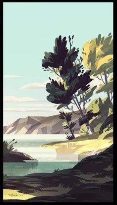 lakes n trees: )