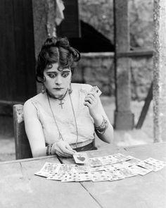Theda Bara (July 29, 1885 – April 7, 1955) in 1915's Carmen