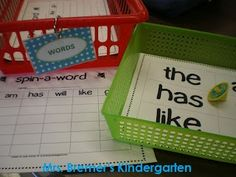 FREE Spin-A-Word activity {by Anita Bremer}