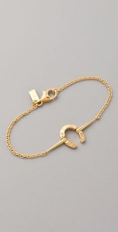 Elizabeth and James Horseshoe ID Bracelet