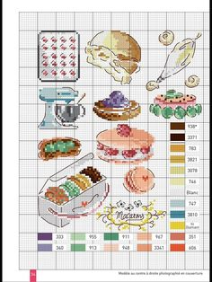 Billedresultat for veronique enginger cross stitch Cupcake Cross Stitch, Cross Stitch Fairy, Just Cross Stitch, Cross Stitch Needles, Funny Cross Stitch Patterns, Cross Stitch Designs, Cross Stitching, Cross Stitch Embroidery, Cross Stitch Kitchen
