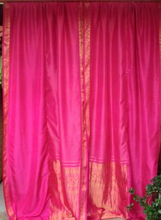 Bohemian Gypsy SARI Curtains by BabylonSisters on Etsy