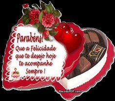 Mensagens de Aniversário para Facebook Happy Birthday, Birthday Cake, Christmas Ornaments, Holiday Decor, Gisele, Mobiles, Quotes, Birthday Message To Sister, Happy Birthday Sms