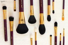 Jessup 15 piece makeup brush set on Hyacinth Girl, $15 on ebay